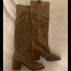 BCBGeneration Over the Knew Suede Boots